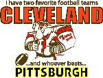 Cleveland - Pittsburgh T-Shirt
