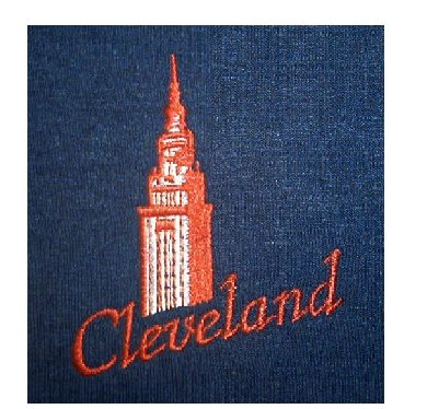 Cleveland Terminal Tower Bue or Black T-Shirt