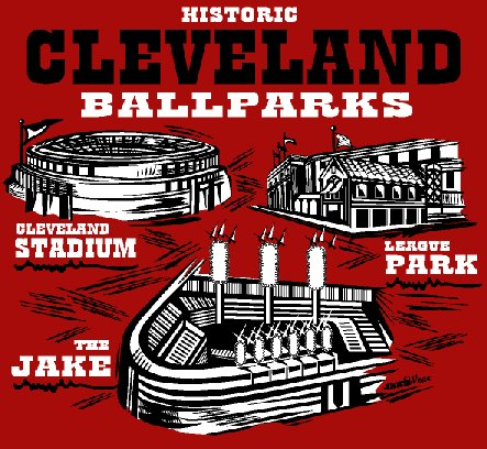 Tribe Stadiums Red T- Shirt